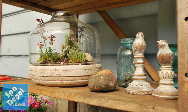 flea markets thrift stores are a fabulous source for inexpensive vintage or rustic patio decorations if youre on a budget like me this is the best - Patio Decorations