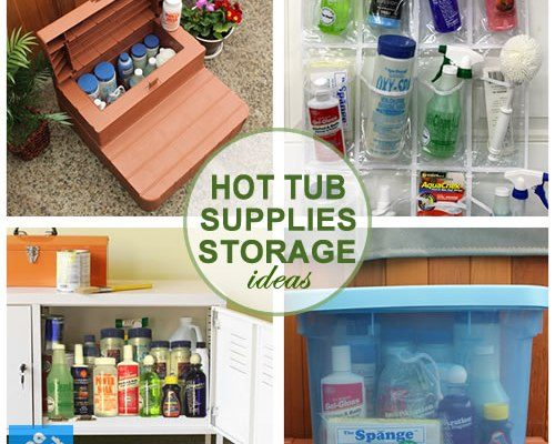 Supplies storage ideas