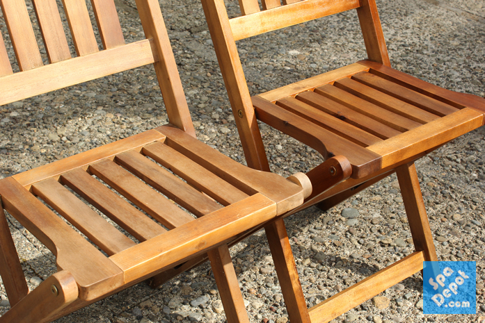 You can also restore your faded outdoor wood furniture!