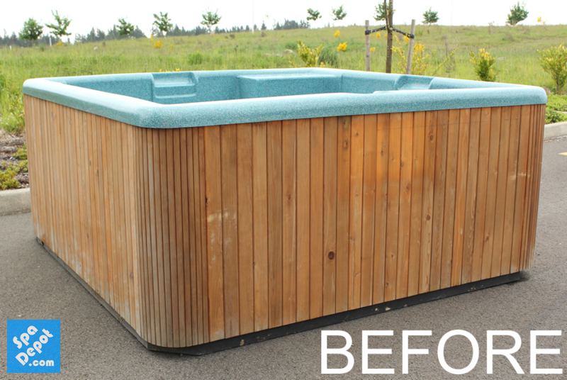 how to make a wooden hot tub
