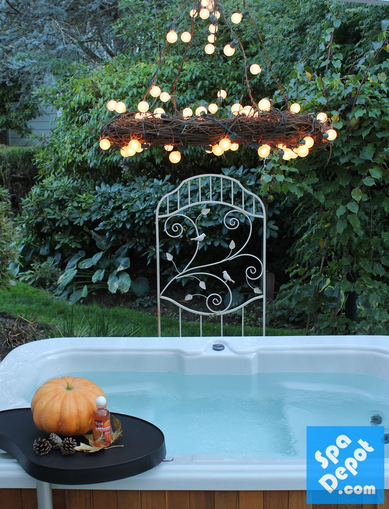 HotTubChandelier-HotTubDecorating