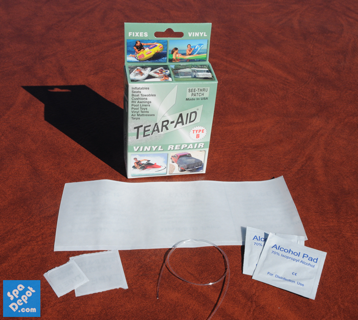 Tear-Aid Contents