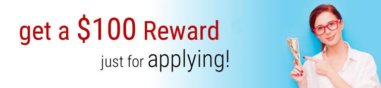 $100 Reward