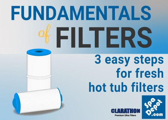 Fundamentals of filters 3 easy steps for fresh hot tub filters