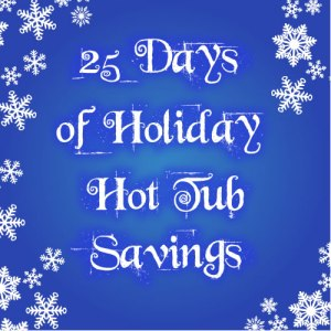 holiday hot tub savings