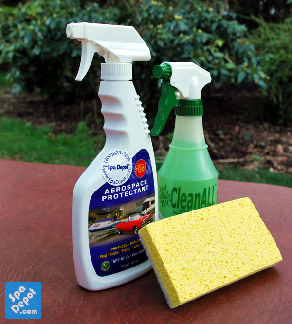 How to Properly Clean Your Hot Tub Cover – Hot Tub Blog | SpaDepot.com