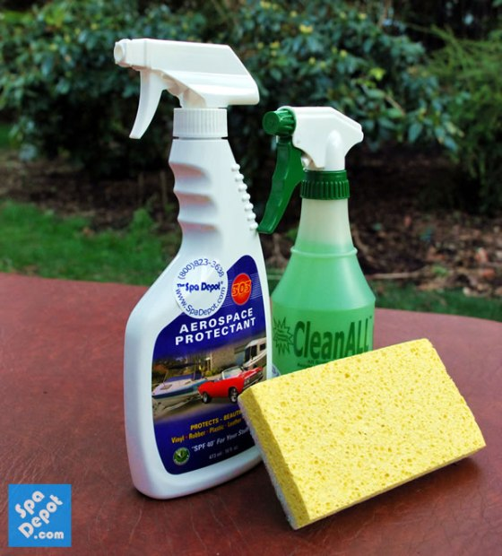 Cover cleaning products