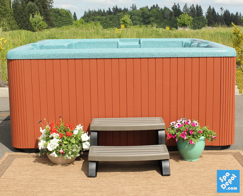 Hot Tub DIY: Painting Your Wooden Hot Tub Cabinet! – Hot Tub Blog ...