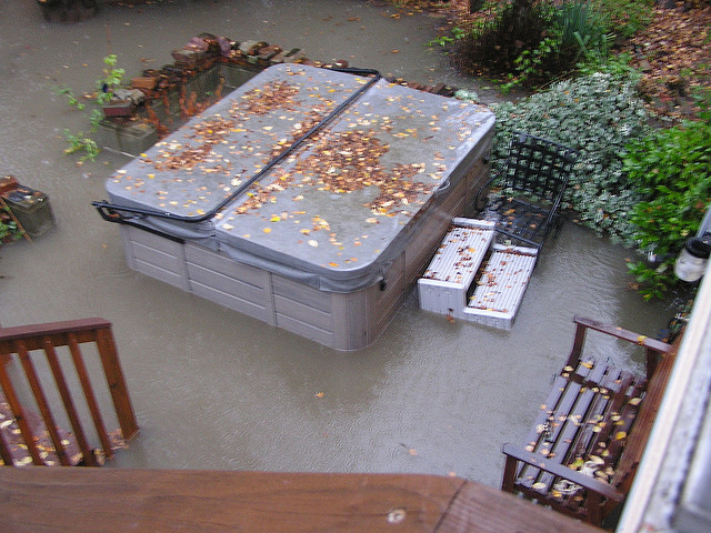 How To Fix Your Hot Tub After A Hurricane Storm Or Flood Hot Tub Blog Spadepot Com