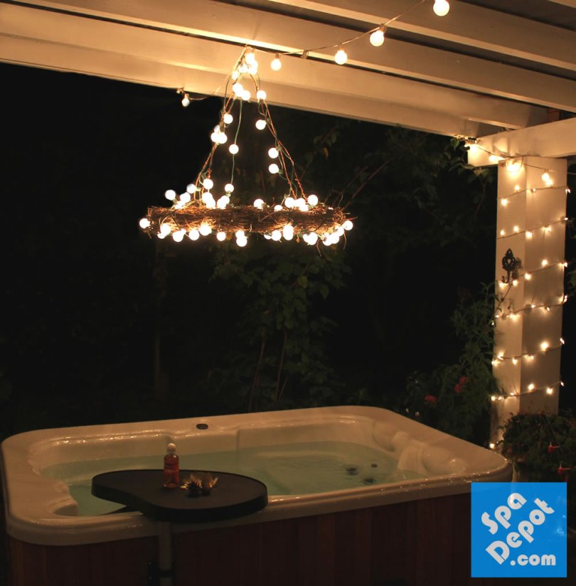 HotTubDecorating-Chandelier