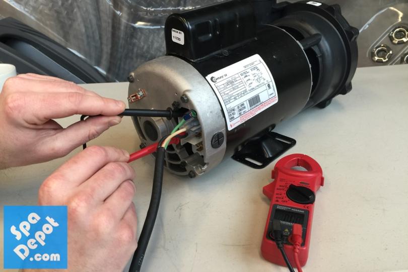 Pump Voltage Testing