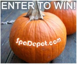 Spa depot pumpkin