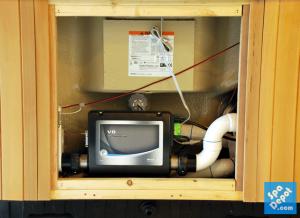 Hot tub control system