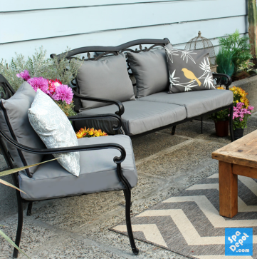 How To Easily Recover Your Outdoor Furniture Cushions Hot Tub Blog