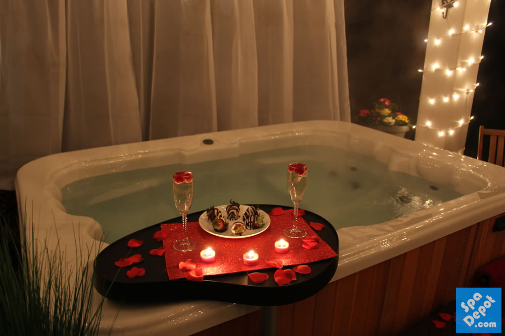Create a Romantic Valentine 's Day At Home – Hot Tub Blog ...
