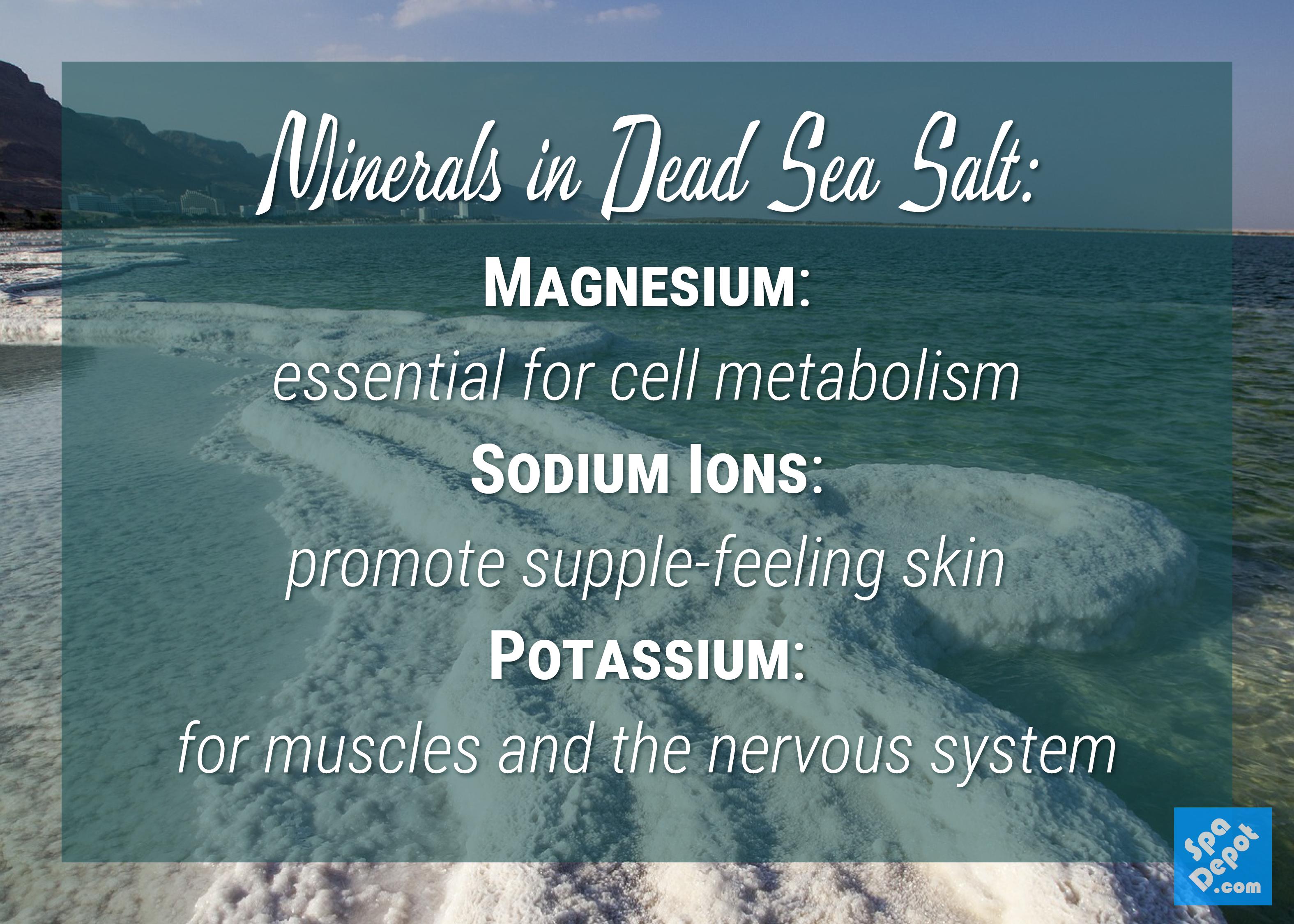 minerals in Dead Sea Salt