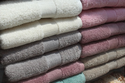 Rinse & Pat Dry with towels