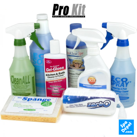 Spa Pro Cleaning Kit