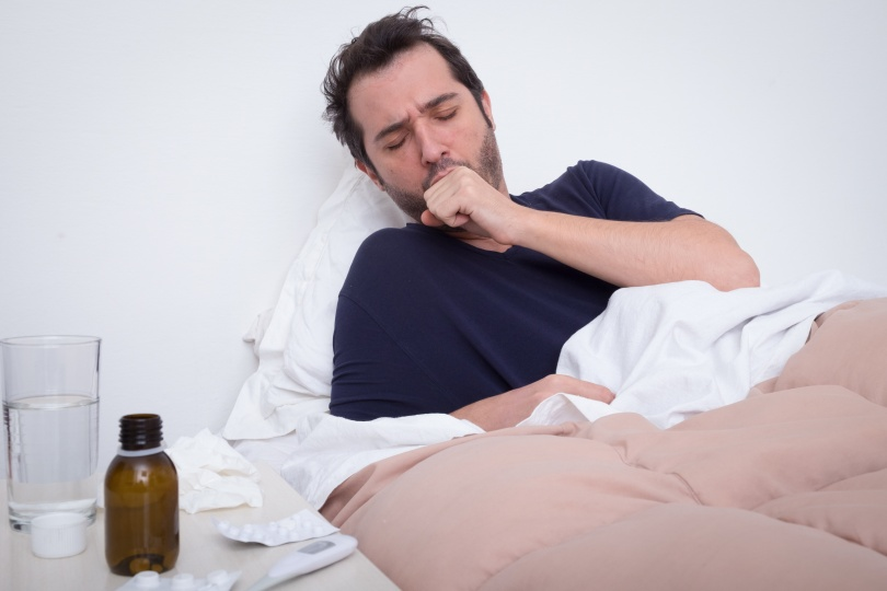 Legionnaire's Disease Coughing Man