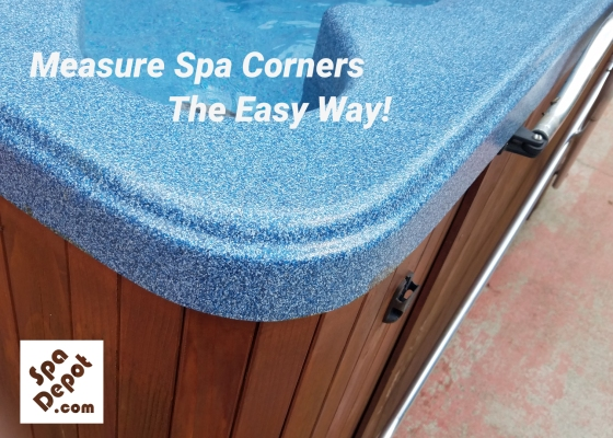 Measure spa corners the easy way