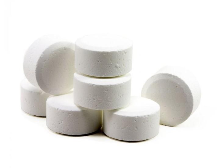 Trichlor pool tablets