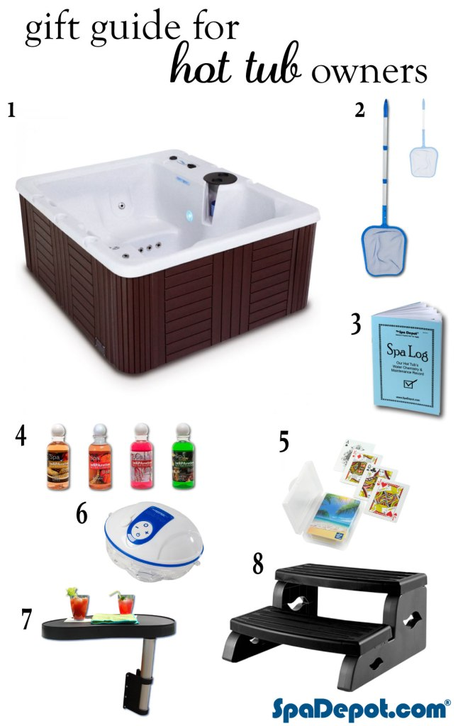 Gift guide for hot tub owners