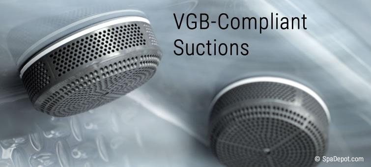 VGB compliant suctions