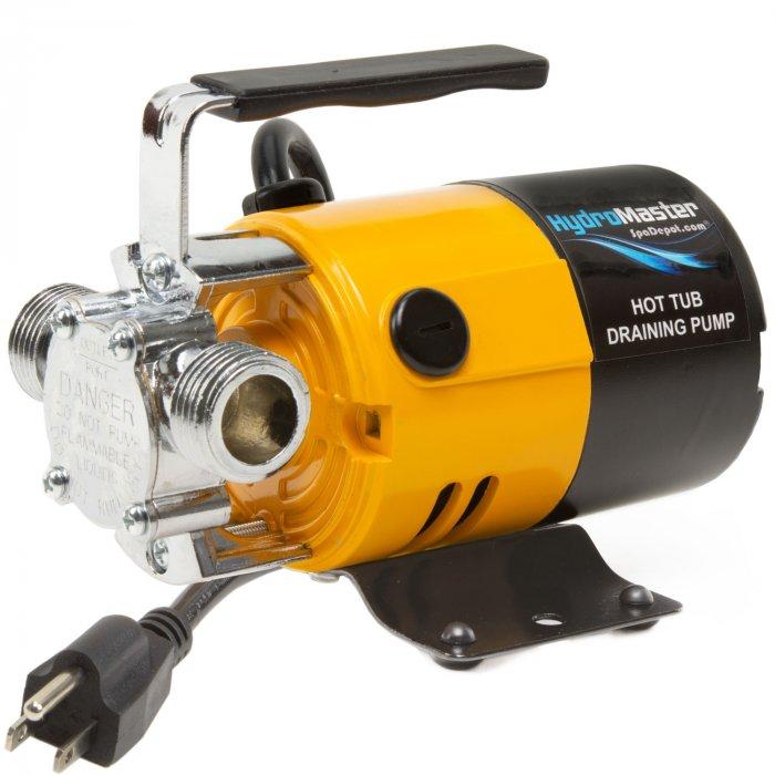 HydroMaster hot tub draining pump