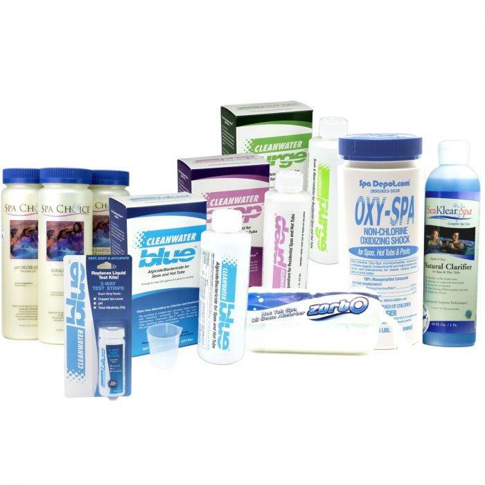 Cleanwater Blue pro supplies kit